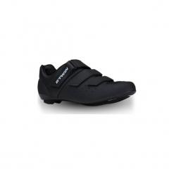 Buty na rower szosowy ROADRACING 500. Czarne buty skate męskie marki B'TWIN, z poliamidu, rowerowe. Za 219,99 zł.