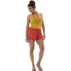 Bermudy damskie: Szorty w kolorze pomarańczowym