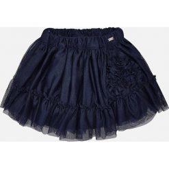 Mayoral - Spódnica dziecięca 80-98 cm. Czarne spódniczki dziewczęce Mayoral, z bawełny, mini. Za 99,90 zł.