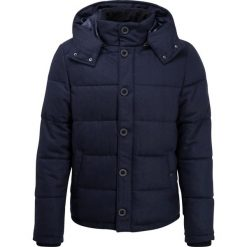 Pier One HOODED  Kurtka zimowa dark blue melange. Niebieskie kurtki męskie bomber Pier One, na zimę, m, z materiału. Za 379,00 zł.