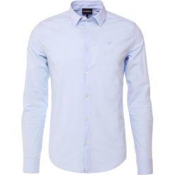 Emporio Armani Koszula biznesowa light blue. Niebieskie koszule męskie marki Emporio Armani, m, ze lnu. Za 629,00 zł.