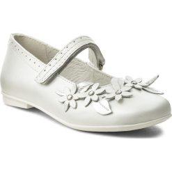 Baleriny PRIMIGI - 1436722 M Bianco. Białe klasyczne baleriny damskie Primigi, ze skóry. Za 239,00 zł.