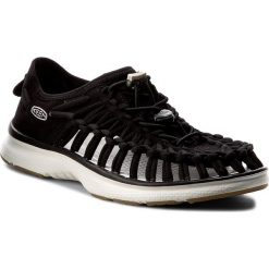 Sandały KEEN - Uneek 02 1017055 Black/Harvest Gold. Czarne sandały damskie marki Keen, z materiału. W wyprzedaży za 239,00 zł.