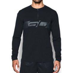 Under Armour Koszulka męska SC30 1/4 Zip LS Crewneck czarna r. L (1298373-001). Szare koszulki sportowe męskie marki Under Armour, z elastanu, sportowe. Za 166,73 zł.
