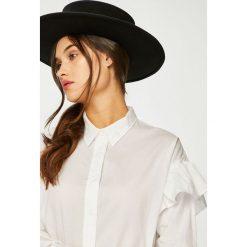 Lee - Koszula. Szare koszule damskie marki Lee, l, z bawełny, casualowe, z klasycznym kołnierzykiem, z długim rękawem. Za 219,90 zł.