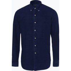 Polo Ralph Lauren - Koszula męska, niebieski. Szare koszule męskie marki Polo Ralph Lauren, l, z bawełny, button down, z długim rękawem. Za 349,95 zł.