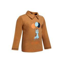Bluzki dziewczęce: Koszulka polo Poney jasny brąz