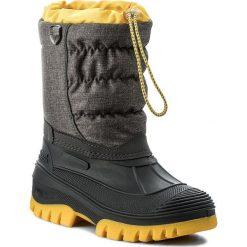 Buty zimowe chłopięce: Śniegowce CMP – Kids Hanki Mel 3Q48064MJ Sphalt Mel. U874