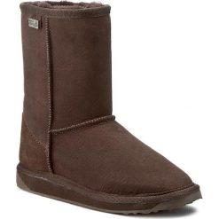 Buty zimowe damskie: Buty EMU AUSTRALIA - Platinum Stinger Lo WP10002 Chocolate