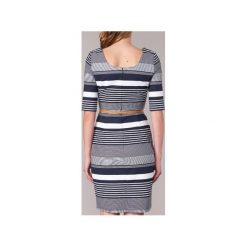 Sukienki krótkie Vero Moda  ROOS. Niebieskie sukienki mini Vero Moda, z krótkim rękawem. Za 175,20 zł.