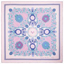 Chusty damskie: Versace 19.69 Chusta Damska Jasnoróżowy Kingdom