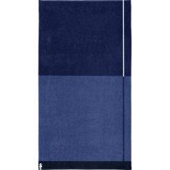 """Kąpielówki męskie: Ręcznik plażowy """"Block"""" w kolorze niebiesko-granatowym"""