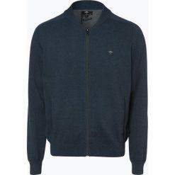 Fynch Hatton - Kardigan męski, niebieski. Niebieskie swetry rozpinane męskie Fynch-Hatton, l, z bawełny. Za 349,95 zł.