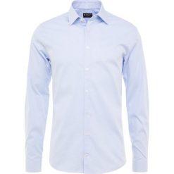 Tiger of Sweden BRODIE EXTRA SLIM FIT Koszula biznesowa light blue. Brązowe koszule męskie slim marki Tiger of Sweden, m, z wełny. Za 419,00 zł.