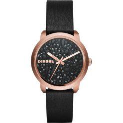 Diesel - Zegarek DZ5520. Czarne zegarki damskie Diesel, szklane. Za 699,90 zł.
