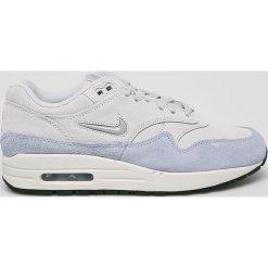 Nike Sportswear - Buty Nike Air Max 1 Premium S. Szare buty sportowe damskie nike air max Nike Sportswear, z materiału. W wyprzedaży za 469,90 zł.
