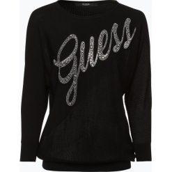 Guess Jeans - Sweter damski, czarny. Czarne swetry klasyczne damskie Guess Jeans, s, z dzianiny. Za 229,95 zł.