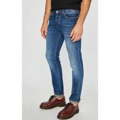 Review - Jeansy Simon. Niebieskie jeansy męskie slim marki House, z jeansu. Za 219,90 zł.