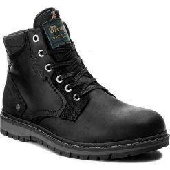 Kozaki WRANGLER - Miwouk WM172015 Black 62. Czarne buty zimowe męskie Wrangler, z materiału. W wyprzedaży za 359,00 zł.