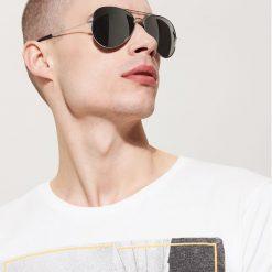 Akcesoria męskie: Okulary przeciwsłoneczne – Szary