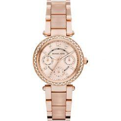 Zegarek MICHAEL KORS - Mini Parker MK6110 Rose Gold/Pink/Rose Gold. Czerwone zegarki damskie Michael Kors. Za 1550,00 zł.