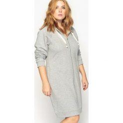 Długie sukienki: Sukienka swetrowa zapinana na zamek
