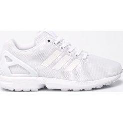 Adidas Originals - Buty ZX Flux. Szare buty sportowe damskie adidas Originals, z materiału. W wyprzedaży za 349,90 zł.