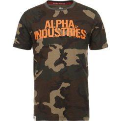 T-shirty męskie z nadrukiem: Alpha Industries BLURRED T Tshirt z nadrukiem camo