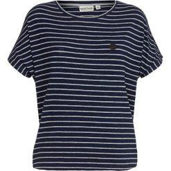 Naketano Koszulka 'Striped Girl'  ciemny niebieski / szary. Brązowe bluzki dziewczęce w paski marki Naketano, z materiału. Za 146,60 zł.