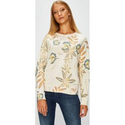 Roxy - Bluza. Szare bluzy rozpinane damskie Roxy, s, z bawełny, bez kaptura. Za 229,90 zł.