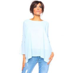 """Bluzki, topy, tuniki: Koszulka """"Levia"""" w kolorze błękitnym"""