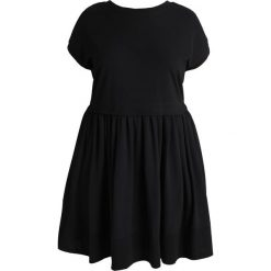 Sukienki hiszpanki: Lost Ink Plus SWING DRESS Sukienka z dżerseju black