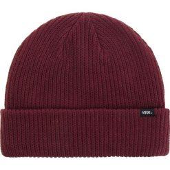 Czapka VANS - Core Basics Bea VN000K9YEGR Port Royale. Czerwone czapki zimowe damskie marki Vans, z materiału. Za 79,00 zł.