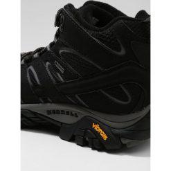 Merrell MOAB 2 MID GTX Buty trekkingowe black. Czarne buty zimowe damskie Merrell, z gumy. Za 559,00 zł.