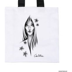Shopper bag damskie: Kwiaty – torba premium (kolory)