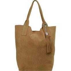 """Torebki i plecaki damskie: Skórzana torebka """"Chloe"""" w kolorze szarobrązowym – 33 x 34 x 18 cm"""