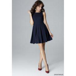 Sukienki: Sukienka L006 granat