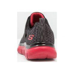 Skechers FLEX ADVANTAGE Tenisówki i Trampki black/grey/red. Szare trampki chłopięce marki Skechers, z materiału. Za 209,00 zł.