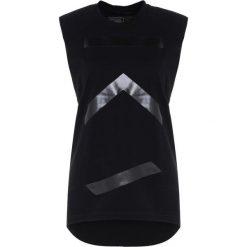 KCA Lab TANK RAW EDGE Top black. Czarne topy sportowe damskie KCA Lab, l, z bawełny. Za 299,00 zł.