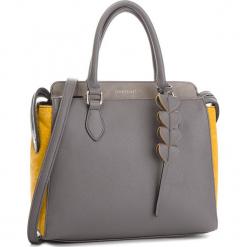 Torebka MONNARI - BAGB110-019  Grey With Yellow. Szare torebki klasyczne damskie Monnari, ze skóry ekologicznej. W wyprzedaży za 199,00 zł.
