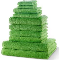 """Bielizna męska: Komplet ręczników """"New Uni""""(10 części) bonprix zielone jabłuszko"""
