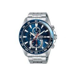 Zegarek Lorus Męski RM379DX9 Chronograf WR 100M srebrny. Szare zegarki męskie Lorus, srebrne. Za 441,99 zł.