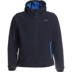 CMP BOY JACKET FIX HOOD Kurtka z polaru antracite/regata. Szare kurtki dziewczęce sportowe marki CMP, z elastanu. W wyprzedaży za 152,10 zł.