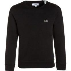 BOSS Kidswear Bluza schwarz. Niebieskie bluzy chłopięce marki BOSS Kidswear, z bawełny. W wyprzedaży za 216,30 zł.