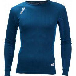 Swix Koszulka Funkcyjna Męska Racex Niebieski M. Niebieskie koszulki turystyczne męskie Swix, l, z długim rękawem. Za 149,00 zł.