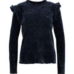 Swetry klasyczne damskie: YAS YASCHERRY FLOUNCE Sweter night sky