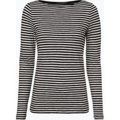 Marc O'Polo - Damska koszulka z długim rękawem, czarny. Szare t-shirty damskie marki U.S. Polo, l, z aplikacjami, z dzianiny, z okrągłym kołnierzem. Za 129,95 zł.