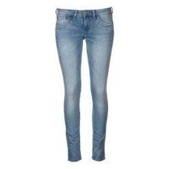 Pepe Jeans Jeansy Damskie Ripple 25/30 Niebieski. Niebieskie jeansy damskie skinny marki Pepe Jeans, z jeansu. W wyprzedaży za 339,00 zł.
