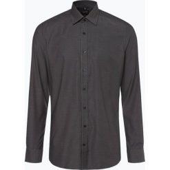 Olymp Level Five - Koszula męska łatwa w prasowaniu, czarny. Czarne koszule męskie non-iron marki Cropp, l. Za 199,95 zł.