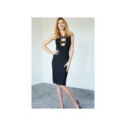 Sukienka czarna Ariel. Czarne sukienki marki Kelly couronne, l, wyszczuplające. Za 269,10 zł.